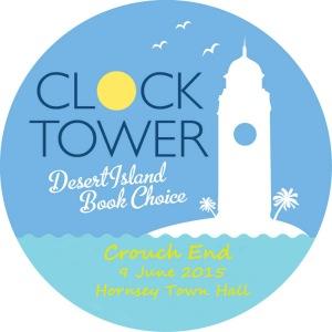 Clocktower desert Island book choice  2015 logo